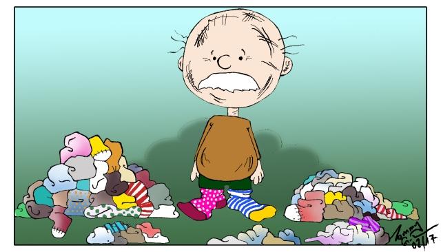 clutter-socks