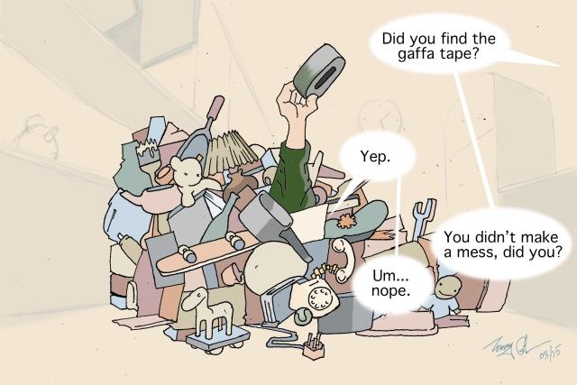 clutter copy